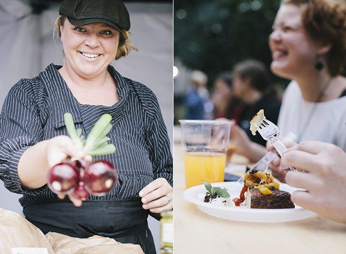 Reklambilder för Skövde Matfestival.