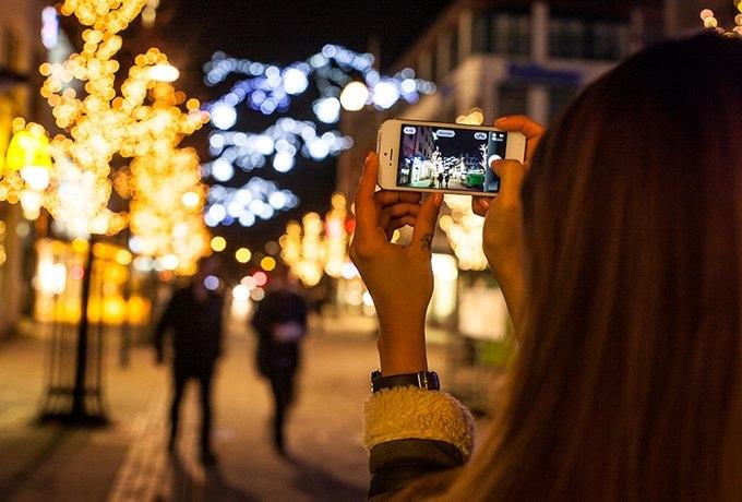 Reklambilder för Stad i Ljus i Skövde