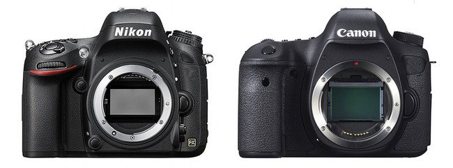 Bästa kameran - Nikon eller Canon