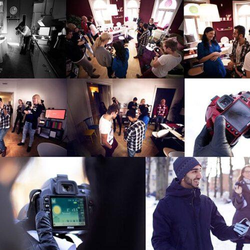 Några bilder från fotokursen