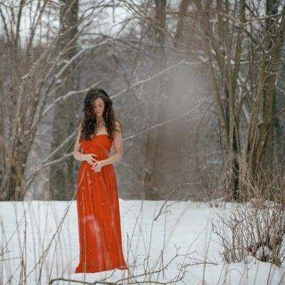 Privatfotografering i snö