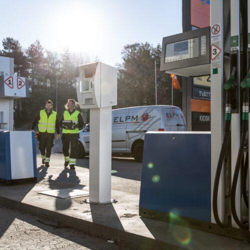 ELPM reklambilder bensinpump