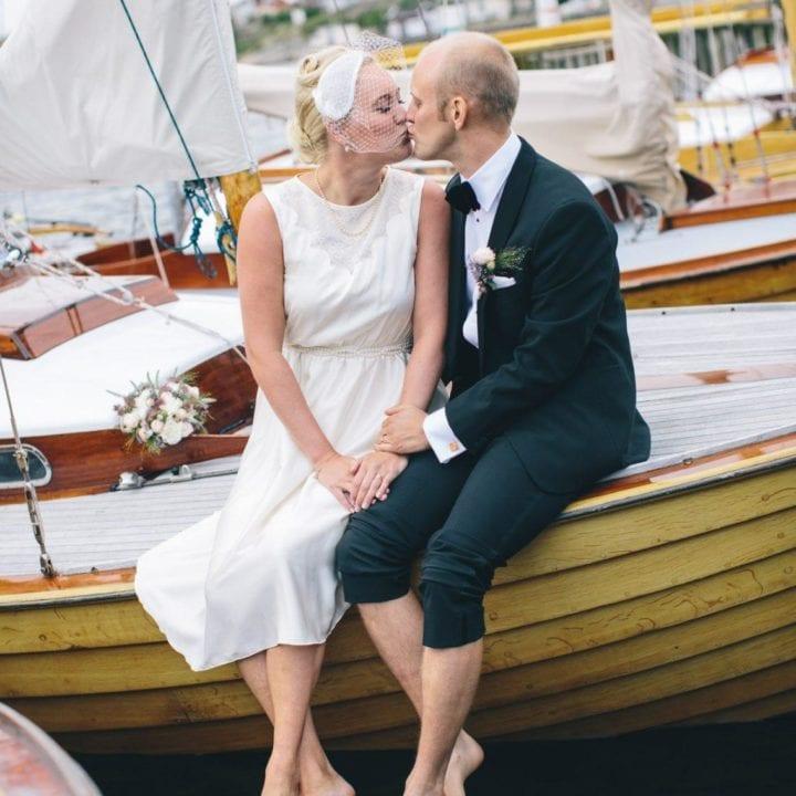 Bröllopsfotograf som skapar kreativa Bröllopsbilder
